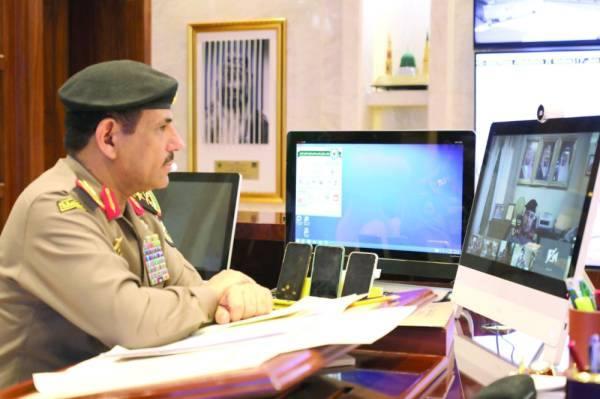 مدير الأمن العام: نفخر بتحقيق كثير من الإنجازات الأمنية