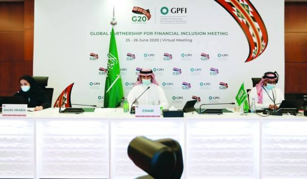 فريق العمل السعودي خلال قمة مجموعة العشرين