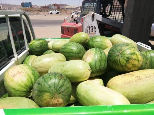 بلدية جنوب مكة تنفذ حملة على الباعة الجائلين