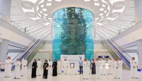 مطار الملك عبدالعزيز الدولي يحصل على شهادة