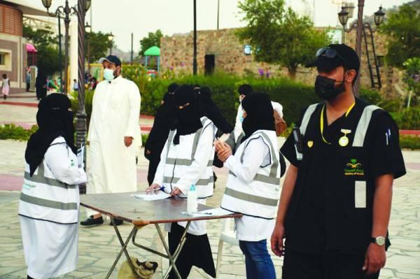 300 ألف مستفيد من التوعية الصحية بمتنزهات الطائف