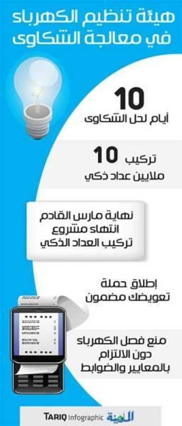 10 أيام لحل شكاوى الكهرباء قبل التصعيد إلى {الهيئة»