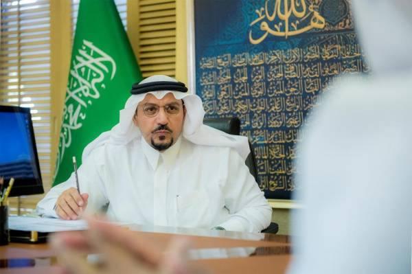 أمير القصيم يرأس اجتماعاً لمراجعة تنفيذ المشروعات التقنية بالإمارة