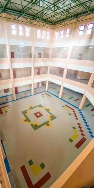 وكيل وزارة التعليم للمشاريع يفتتح مدرسة عدي بن حاتم الابتدائية عن بعد