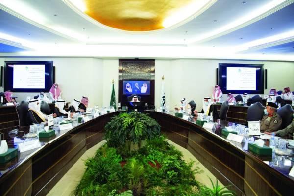 الفيصل خلال الاجتماع