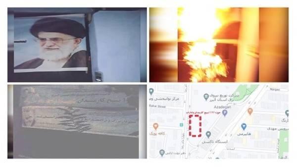 إيران.. إضراب عمال النفط يدخل يومه الـ25 في 24 مدينة