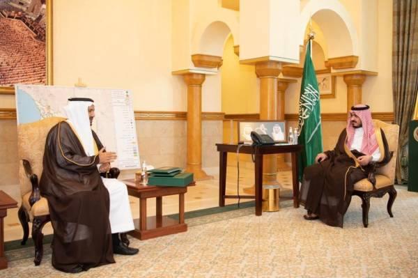 نائب أمير مكة يطلع على استعدادات