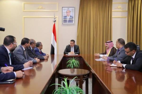 رئيس وزراء اليمن يبحث مع رئيس وأعضاء