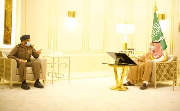 أمير الباحة يتسلم تقريرين عن أعمال الدفاع المدني بالمنطقة