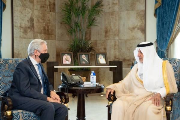 الفيصل يستقبل السفير الفرنسي بمناسبة انتهاء فترة عمله