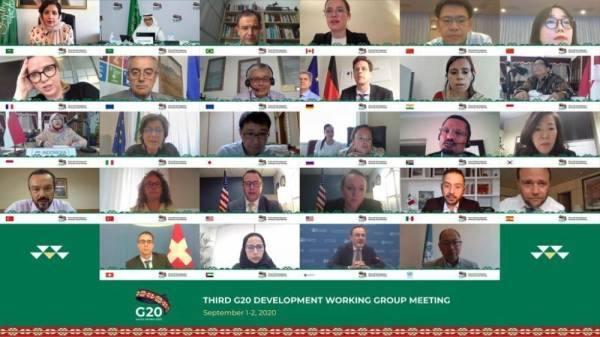 مجموعة العشرين تعزّز التنمية المستدامة وخطة الاستجابة الطارئة للدول النامية