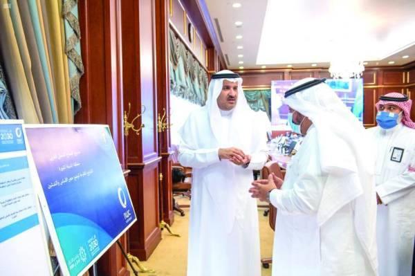 أمير المدينة المنورة: منع تحويل مزارع النخيل لـ «مواقع عمرانية»