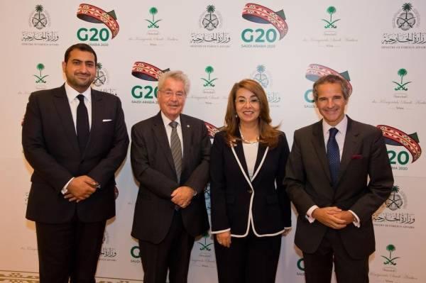 سفارة المملكة في النمسا تقيم حفل استقبال للتعريف بجهود المملكة خلال رئاستها لمجموعة الـ20