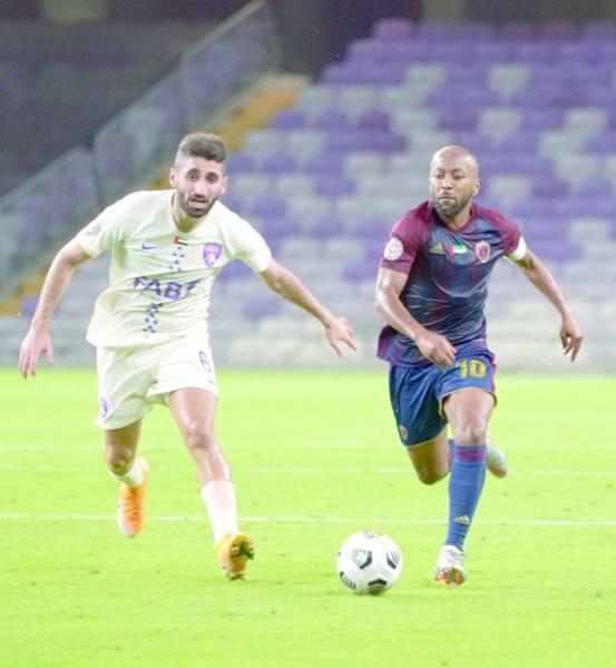 من مباراة للوحدة الإماراتي