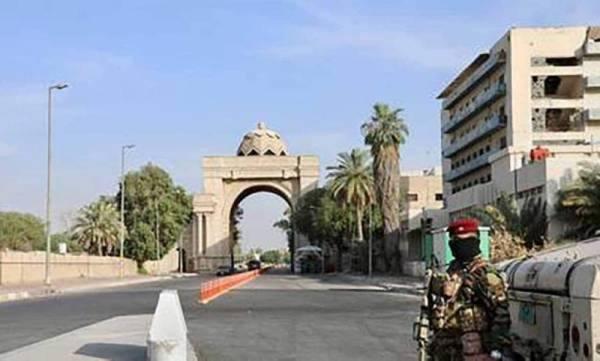 دفاعات سفارة أمريكا في بغداد تتصدى لهجوم صاروخي