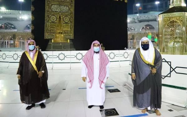 الرئيس العام يؤكد على دور الهيئة بالمسجد الحرام ويوصيهم بالجد والاجتهاد