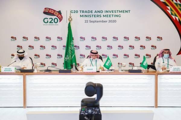 وزراء التجارة والاستثمار في مجموعة الـ20 قلقون من تداعيات كورونا