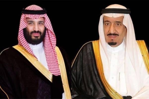 خادم الحرمين وولي العهد يتلقيان برقيتي تهنئة من الرئيس الفلسطيني