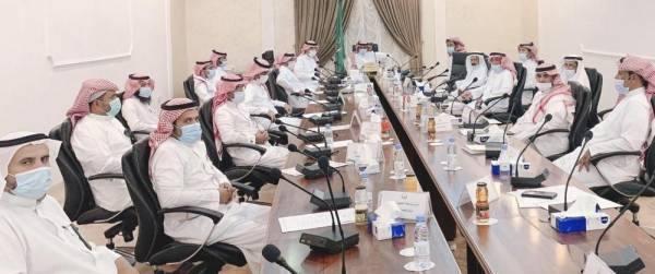 مجلس المهد يناقش تطوير الخدمات التنموية