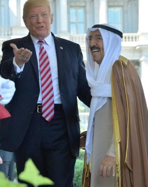 ترامب: الشيخ صباح الأحمد كان صديقا وشريكًا لا يتزعزع