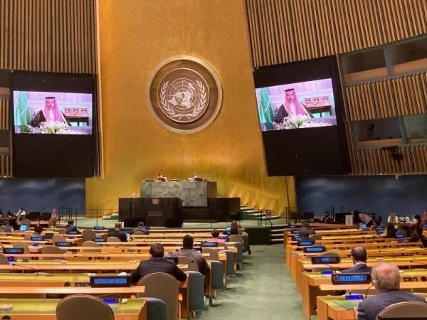 المملكة تطالب المجتمع الدولي بتحمل مسؤولياته تجاه تجاوزات وخروقات إيران للاتفاقيات والمعاهدات الدولية