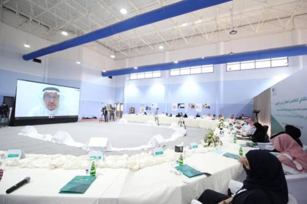 آل الشيخ مترئسا الاجتماع