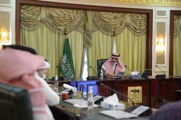 رئيس جامعة الملك خالد يفتتح النسخة المطورة من بوابة البحث العلمي
