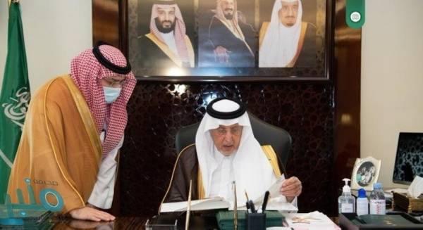 الفيصل يطلع على تقرير  توطين الوظائف