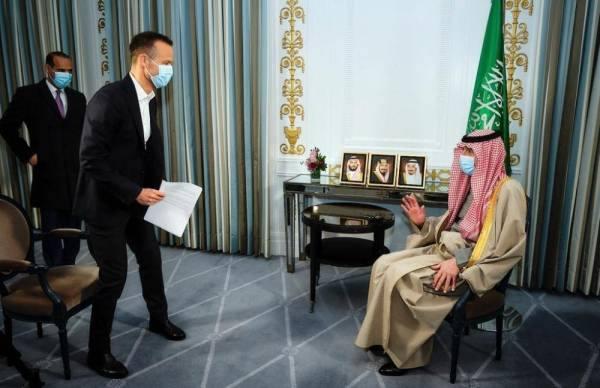 الجبير يجرى لقاءً مع تلفزيون هيئة الإعلام الدنماركي
