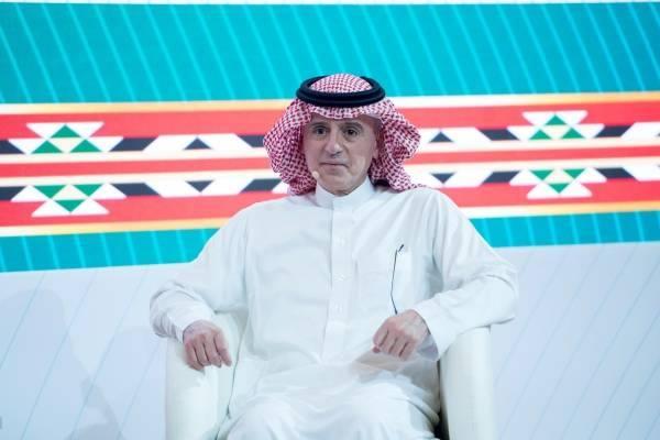 الجبير: الاقتصاد السعودي عامل استقرار للمنطقة.. والمملكة تقع في المسارات الرئيسة للتجارة العالمية