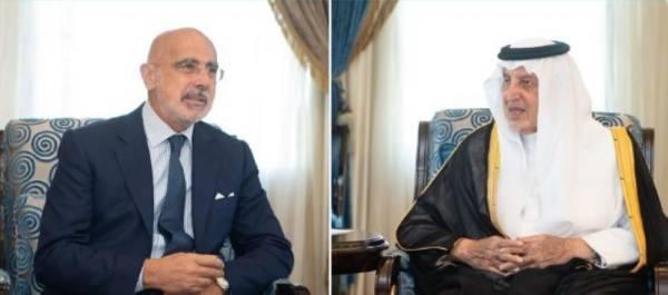 الفيصل يستقبل السفير الإيطالي