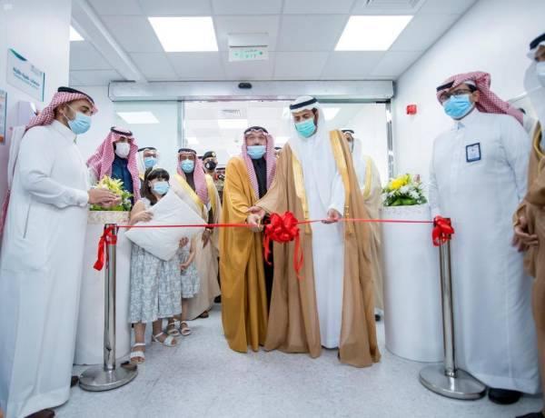 أمير القصيم يفتتح مشاريع صحية في مستشفى الملك فهد ببريدة