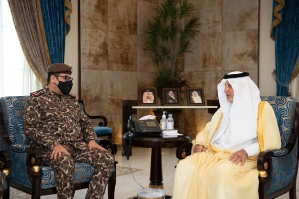 الفيصل يستقبل قائد القوات الخاصة للأمن البيئي