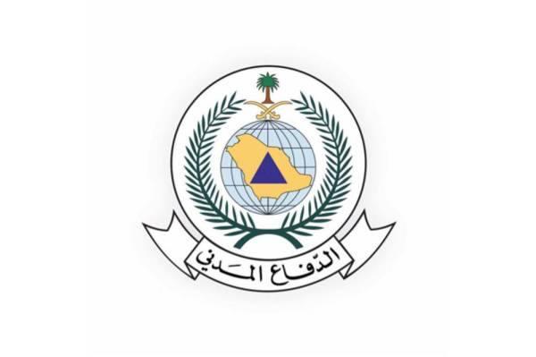 الدفاع المدني يحذر من استمرار هطول الأمطار الرعدية بعدد من مناطق المملكة