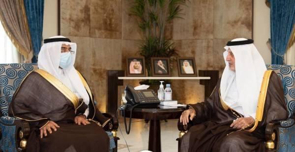 الفيصل يستقبل مدير فرع وزارة الخارجية بالمنطقة