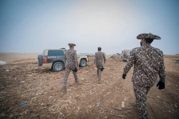 ضبط 54 طنًا من الحطب المحلي المعد للبيع في الرياض