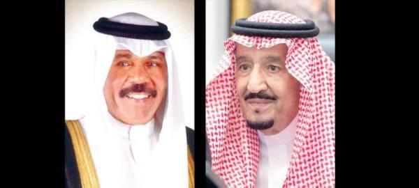 أمير الكويت: للمملكة دورها الرائد في دعم واستقرار المنطقة