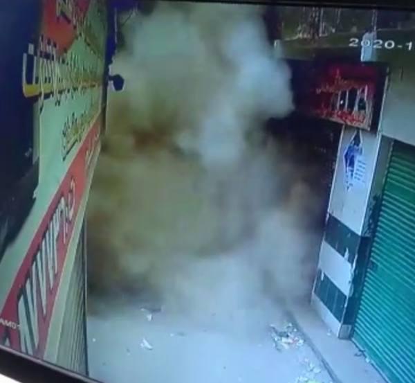 القاهرة : انهيار مبنى على المارة.. وانتشال شخصين