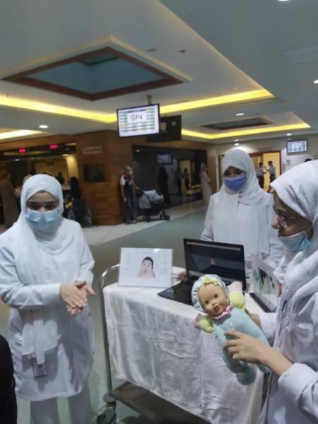مكة المكرمة : مستشفى الولادة تخصص ساعة للتثقيف الصحي