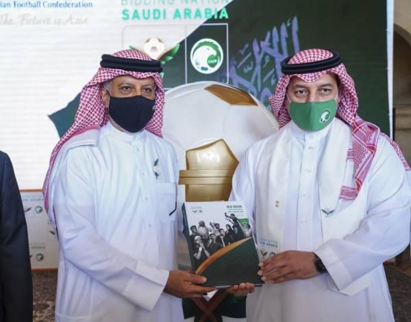 السعودية تُسلم ملف ترشحها لاستضافة كأس آسيا 2027