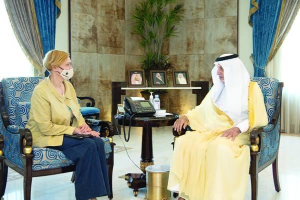 الفيصل يستقبل قنصل ألمانيا