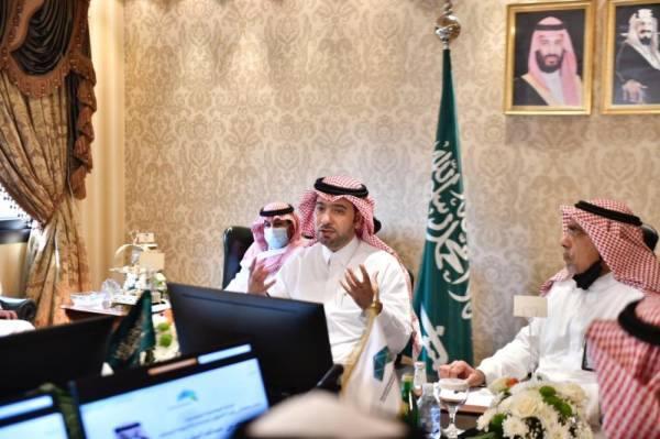 وزير الشؤون البلدية يطلع على مشروعات أمانة العاصمة المقدسة