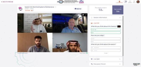 نقل الكهرباء تشارك افتراضياً في المؤتمر الدولي للتشغيل والصيانة في الدول العربية الـ 18