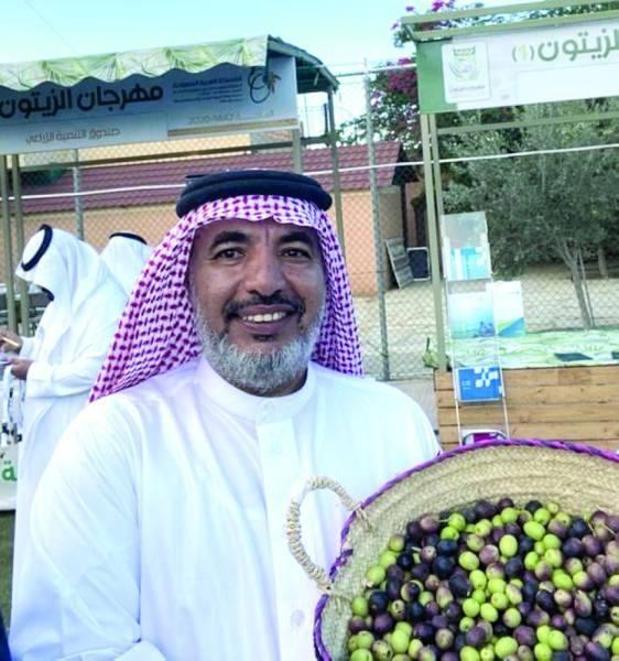 عباس: ارتفاع إنتاج مزارع الباحة إلى 150 طنا من الزيتون