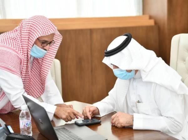 رئيس جامعة الباحة يدشن حملة