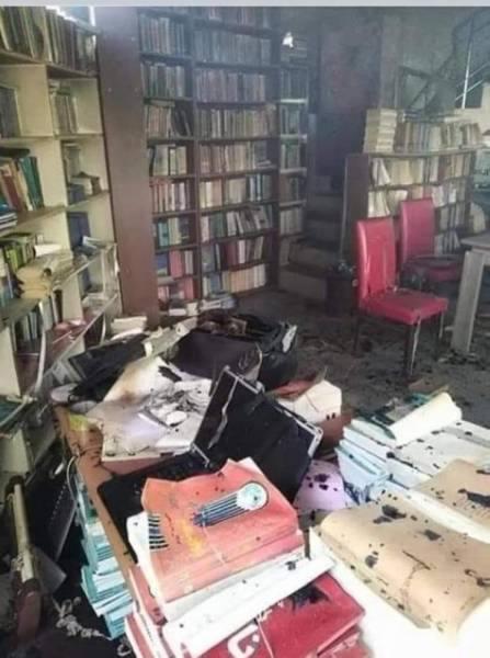 اليمن.. ميليشيا الحوثي تحرق أشهر المكتبات الدينية في حجة