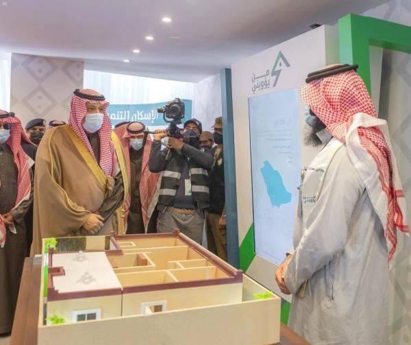 أمير الباحة يدشن بناء وترميم 270 وحدة سكنية للأيتام