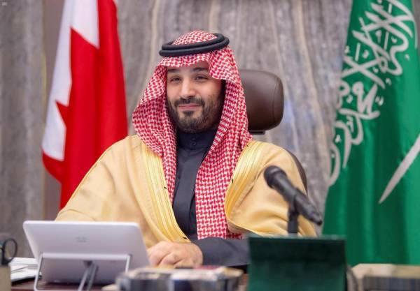 ولي العهد: يؤكد عمق ومتانة العلاقات بين السعودية والبحرين