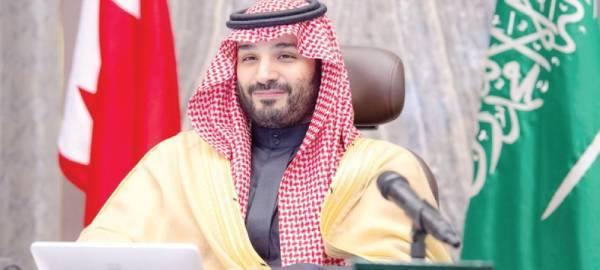 ولي العهد:  التنسيق السعودي البحريني يستهدف مواجهة التحديات