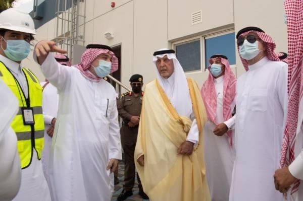 خالد الفيصل : 2 مليار و500 مليون قيمة المشاريع المنفذة في جدة